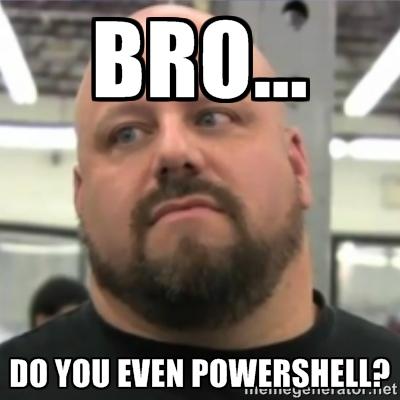 PowerShell Humor |